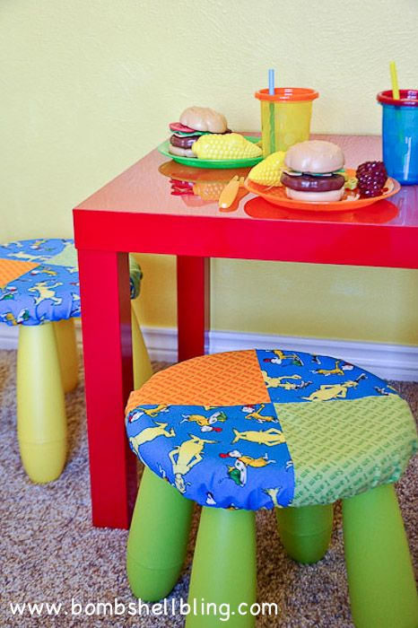 online bags outlet Dr Seuss Room Fun Simple Stool Covers