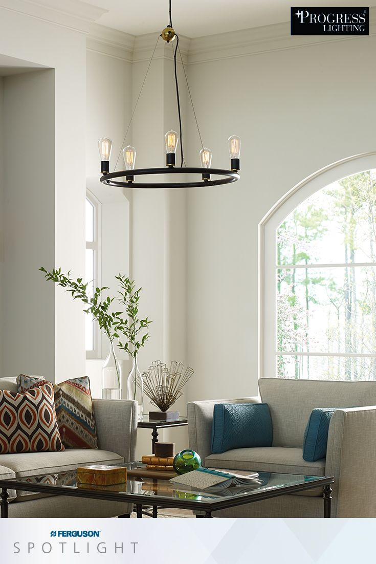 Enhance your home with brilliant interior lighting fixtures from Progress Lightingu0027s Swing Collection featuring chic industrial design with a vintage ... & 367 best Lighting images on Pinterest | Pendant lighting ... azcodes.com