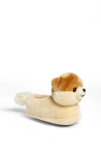 'Boo - The World's Cutest Dog' Slipper http://rstyle.me/n/djvp7r9te