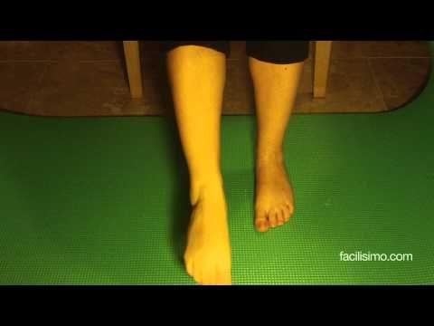 Ejercicios para fortalecer los tobillos | facilisimo.com - YouTube