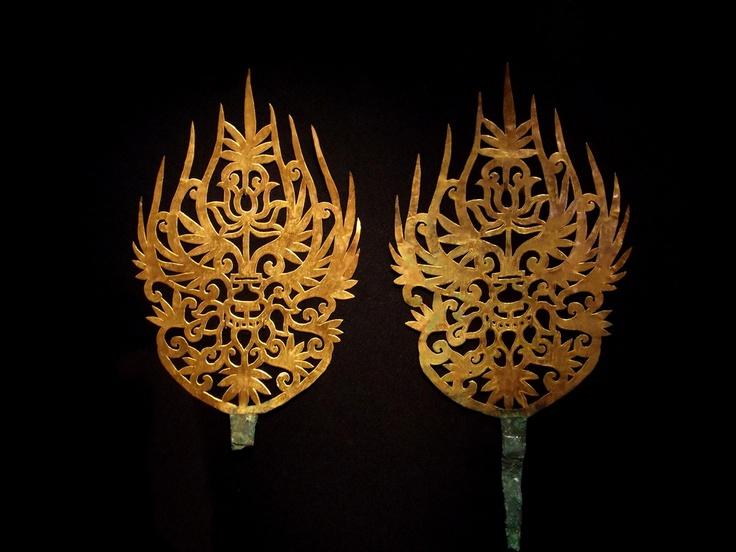 Goldornaments, Silla period, Korea