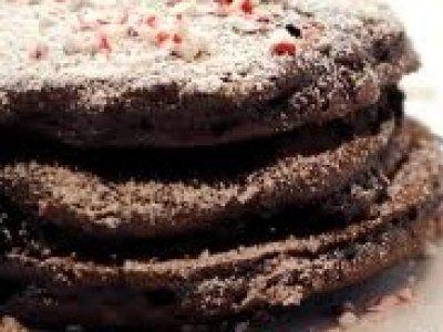 Receta de Hotcakes de Chocolate