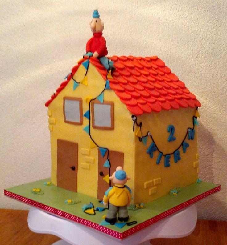 3d taart met buurman en buurman