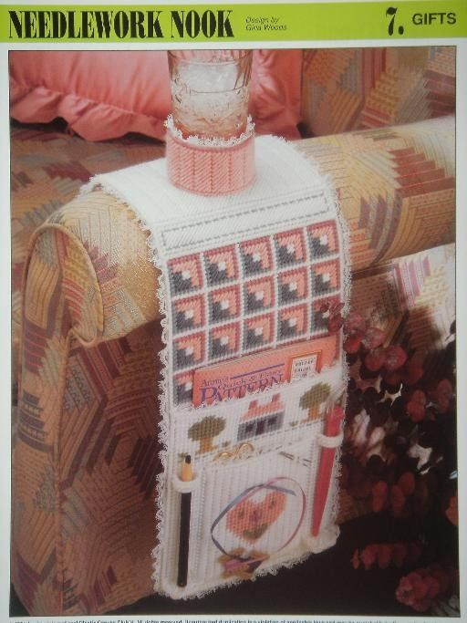 NEEDLEWORK NOOK plastic canvas PATTERN holds by PatternsAndSuch