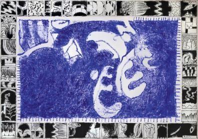 Pierre Alechinsky, Paris, Galerie Lelong