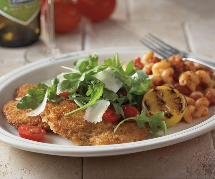 Carrabba's Italian Grill Copycat Recipes: Parmesan Crusted Chicken Arugula