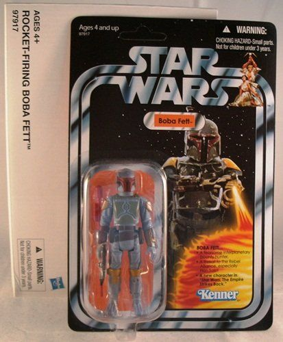 Rocket-Firing Boba Fett 3-3/4 Inch Scale Action Figure