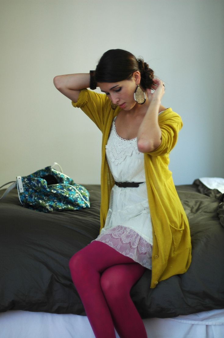 all about the colored tights :)