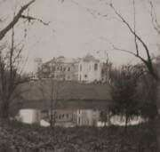 """Skierniewice Palace in Poland in the early 1900s. """"AL"""""""