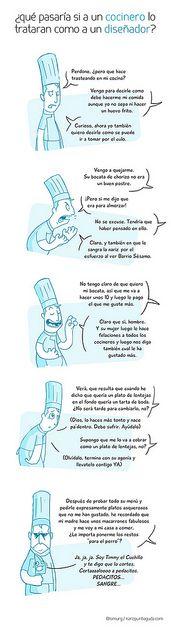 diseñadores / cocineros