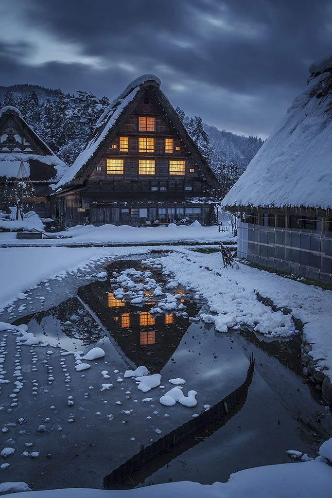 Japan, Shirakawa-go, located in the Japanese Alps