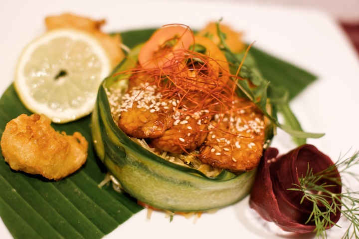 lucky leek vegetarian restaurant in berlin