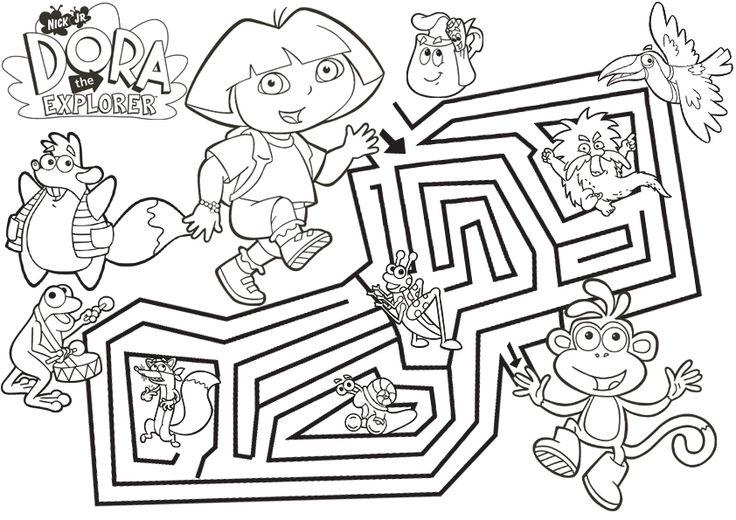 Dora labyrinthe