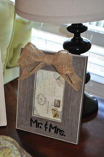 Easy Wedding Gift