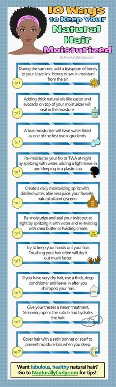 Got dry hair?  This is how you keep it moisturized! (http://napturallycurly.com/remedies-for-dry-natural-hair/)