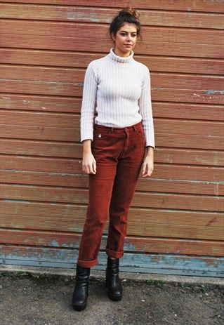 Vintage+Cord+Trousers