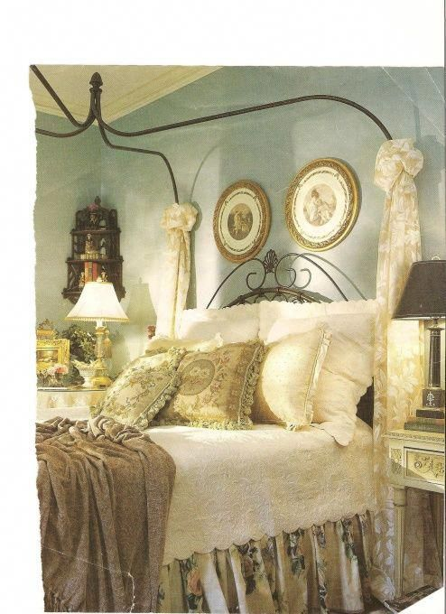 romantic country bedroom decorating ideas Spare Bedroom - Bedroom