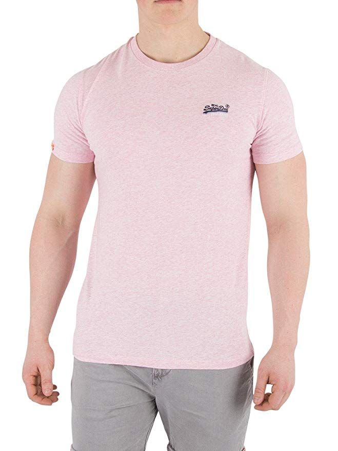 8aecfe9f [Affiliate] Superdry Men's Orange Label Vintage EMB T-Shirt, Pink, Small