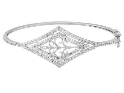 Titanic Jewelry Collection (Tm) Emily's Delicate Filigree Bangle