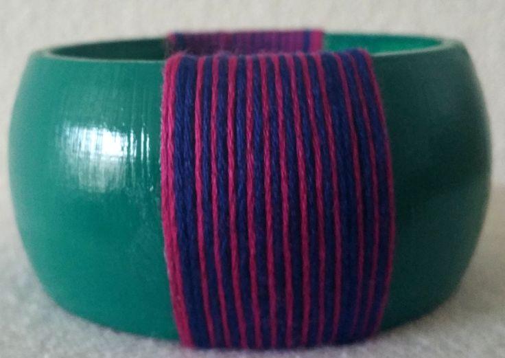 Threaded Handmade Bangles - Vin Noir