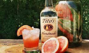 smoothest vodka I've tasted - tito's vodka