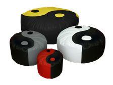 Ying-Yang#Πουφ Poofomania #bean bag#pouf#poof#indoor#design#