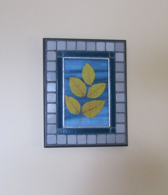 Autumn leaves:  Floating on the Breeze 4   Wall by RockinMosaics