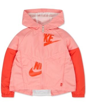 Nike Windrunner Jacket, Toddler & Little Girls (2T-6X) - Pink 2T