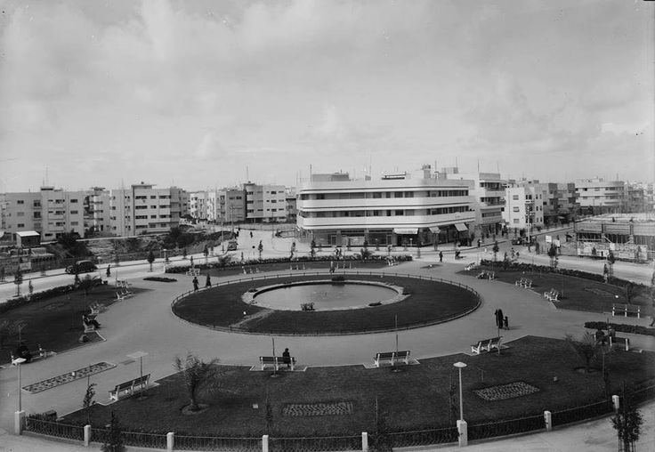 Tel Aviv, Disengoff Square 1938