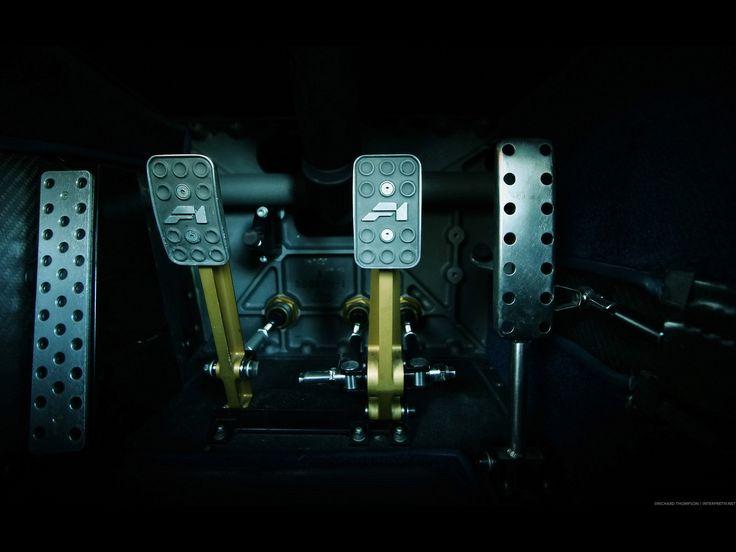 McLaren F1 Pedals