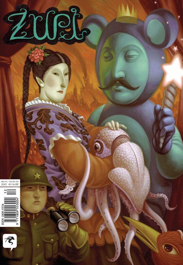 """Zupi Art Magazine by Zupi """"official page"""", via Behance"""