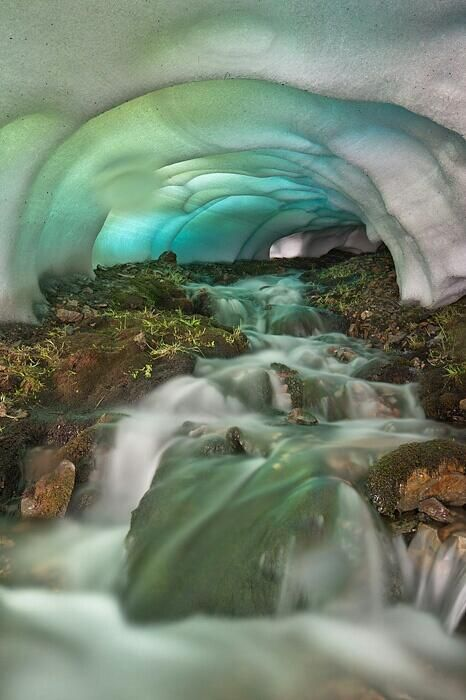 A dreamy ice cave in Iceland