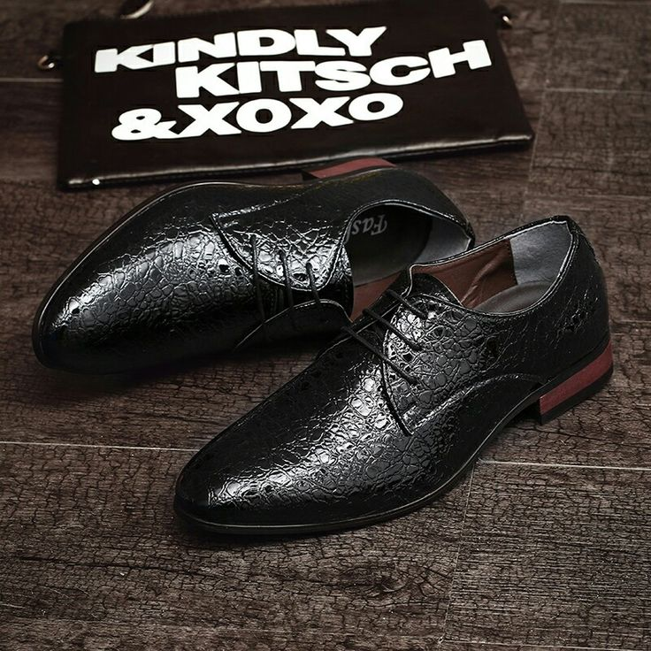 US $28 New Arrival Spring Luxury Brand Men Oxfords Shoes High Quality Business Derby Dress Shoes Calcado Masculino Wedding Shoes