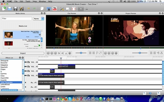 VLMC : Logiciel de montage vidéo gratuit