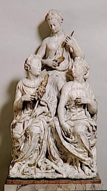Germain Pilon (1535-1590) - Les Trois Parques - Sculpture