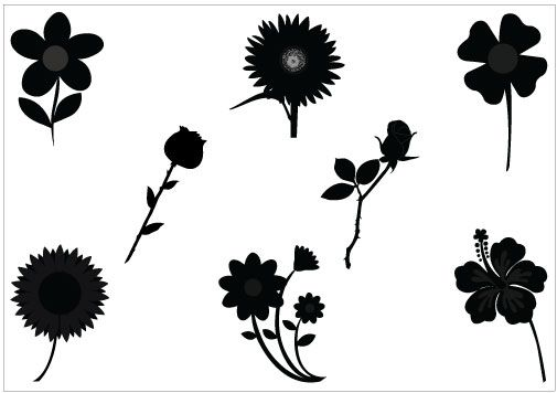 45 best FLOWER VECTOR GRAPHICS images on Pinterest ...