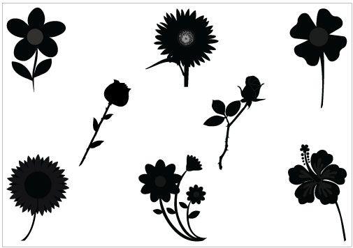 45 best FLOWER VECTOR GRAPHICS images on Pinterest ...
