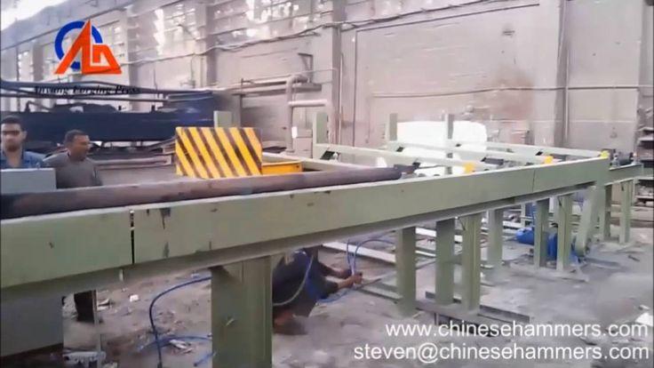 machine de découpe billettes (billette machine de cisaillement) est une sorte de machine de cisaillement à froid, qui est utilisé pour couper la barre en acier pour la matrice fermée forgeage ligne de production. Avec la commande de PLC, alimentation automatique, découpe automatique, comptage automatique, graissage automatique et la protection de surcharge.  Si vous êtes intéressé par cette machine, s'il vous plaît contactez-moi me sens libre.  steven che Anyang Forging Press Machinery…