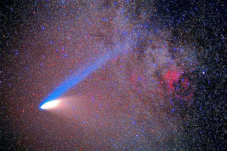 The comet Hale-Bopp captured the attention of millions when it traveled in from the Oort Cloud to pass near the Earth before returning to its distant home.