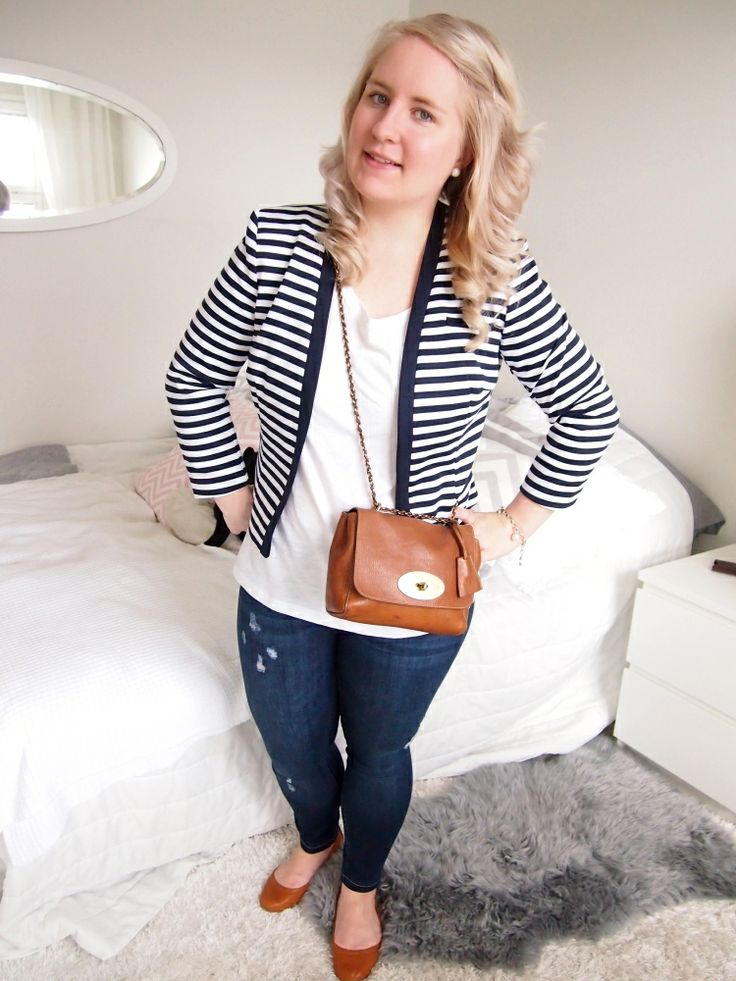 outfit,striped blazer,mulberry lily,jeans