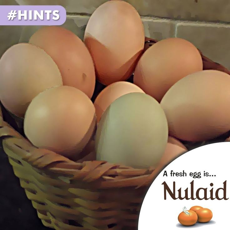 The protein in the egg is destroyed when the egg is overcooked. (E.g. the brown edges on a fried egg.) #nulaid #nutrition