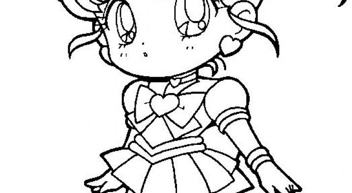 The Most Elegant  Sailor Moon Coloring Page regarding  Invigorate   in coloring picture