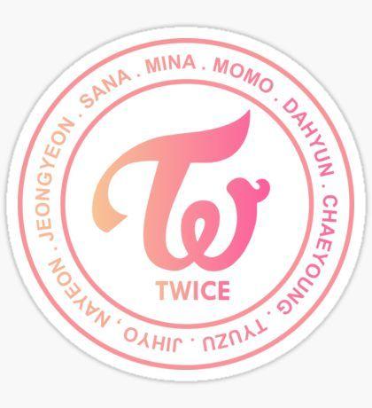 TWICE OT9 MEMBER Sticker