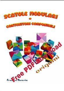 LIBRI SCATOLE - Aerei di carta, maschere origami,architetture, scatole, cappelli origami, arredamento, decorazioni origami, creati da Franco Pavarin