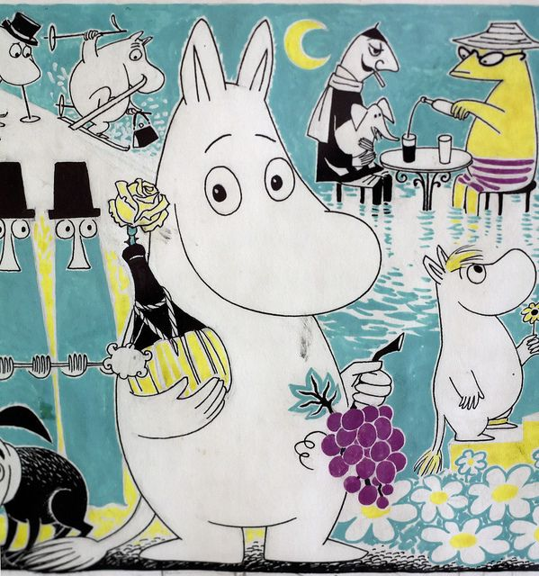 Original drawing by Tove Jansson.