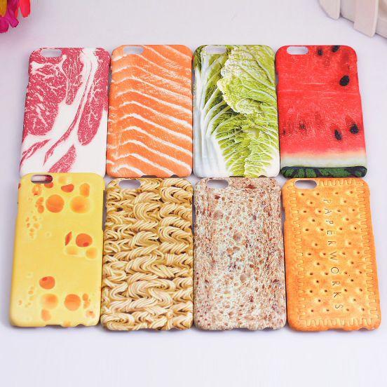 Купить товарЗабавный вкусная еда мясо овощной фрукты арбуз живописи мобильный телефон крышка чехол для iPhone 5 5 г 5S 6 6 г 6 S 4.7 6 плюс 5.5 в категории Сумки и чехлы для телефоновна AliExpress. Funny Summer 3D Fruit Watermelon Lemon Orange Food Design Soft TPU+Crystal Clear PC Phone Cases For iPhone 5 5s 6 4.7 6p