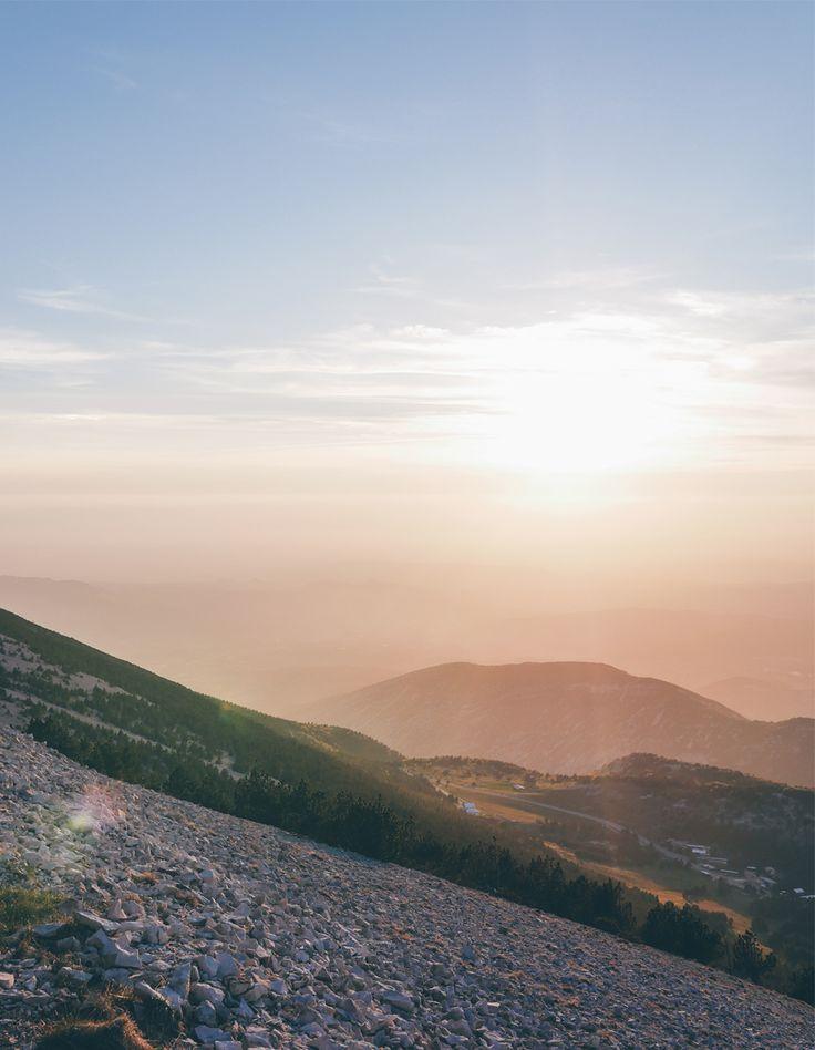 Coucher de soleil au Mont Ventoux - Vaucluse