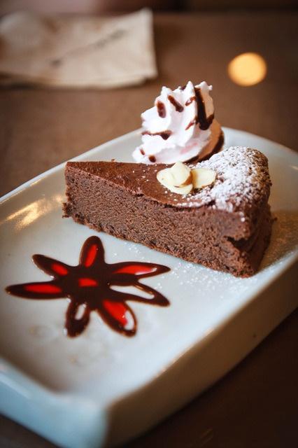 Cafe Terra Chocolate cake
