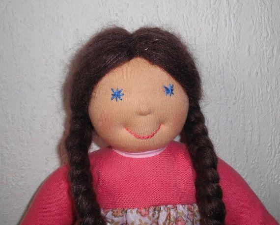 Waldorf Doll Waldorf style doll Steiner doll by WaldorfDollsByIren