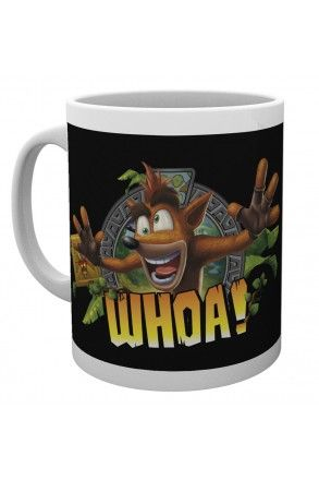 Crash Bandicoot Whoa Mug